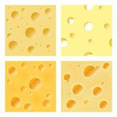 Seamless cheese matrix