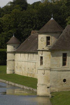 Val d Oise, the castle of villarceaux