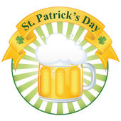A glass of fine beer for St Patrick's day