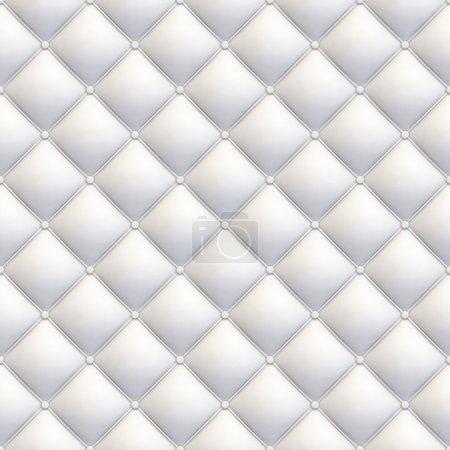 Photo pour Revêtement en cuir blanc texture transparente diagonale avec beaucoup de détails pour l'arrière-plan, vérifiez mon port pour des similitudes - image libre de droit