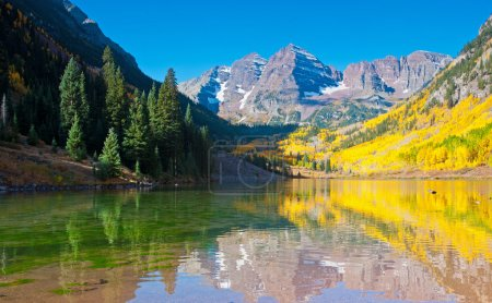 Maroon Bells-Reflection