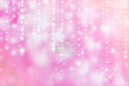 Photo for Pink colored image of abstract lights - background - Royalty Free Image