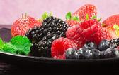 Chamtivý červeného ovoce