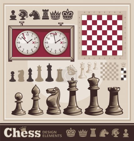 Chess design elements