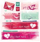 Výstřední valentine a datování stránky bannery