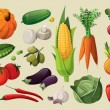A set of delicious vegetables....