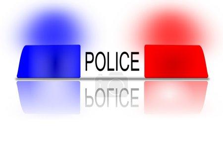 Police beacon
