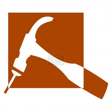 Hammer and Nail - logo
