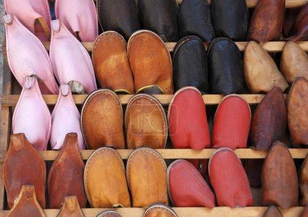 Handmade Moroccan shoes