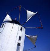 Větrný mlýn ve Španělsku