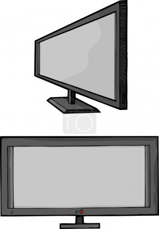 Widescreen Flat Panel TV
