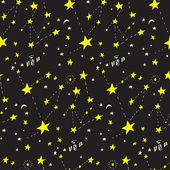 Seamless Constellation Background
