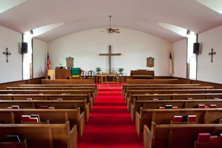 Country Church Interior