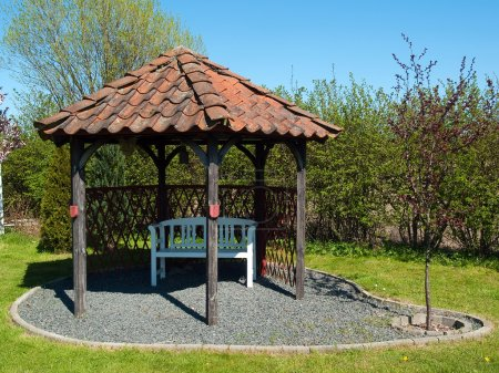 Beautiful home garden gazebo pavilion