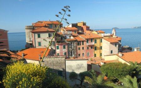 Mediterranean idyllic village