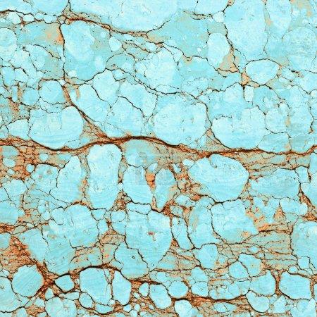 Photo pour Carrelage en marbre antique fissuré - image libre de droit