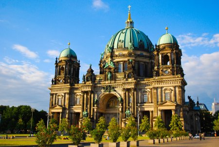 Evangelical neo-renaissance cathedral (Berliner Do...