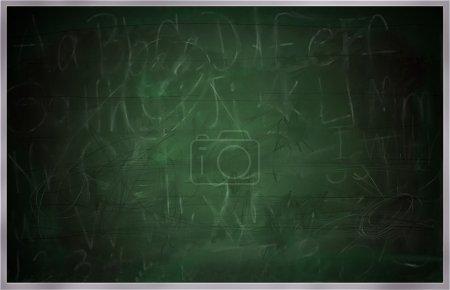 Old School Chalk board, Green board or Blackboard
