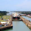 From Gatun lake to the Panama Canal...
