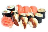 Sushi a rohlíky