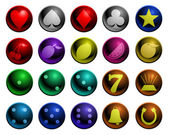 Shiny Gambling icons