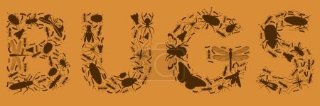 BUGS made of insects
