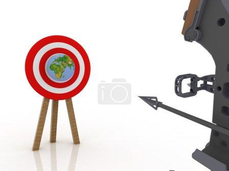 Target globe
