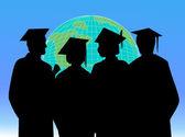 Graduation celebration success vector design