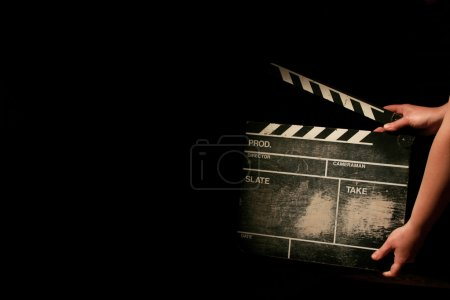 Photo for Movie clapper - Royalty Free Image