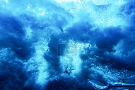 Photo pour Sous l'eau Texture abstraite - image libre de droit