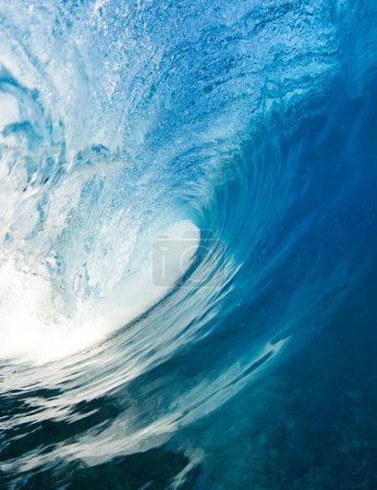 Photo for Blue Ocean Wave - Royalty Free Image