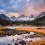 Amazing Landscape, Beautiful Mountain Sunset...