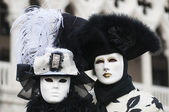 Maska karnevalu v Benátkách