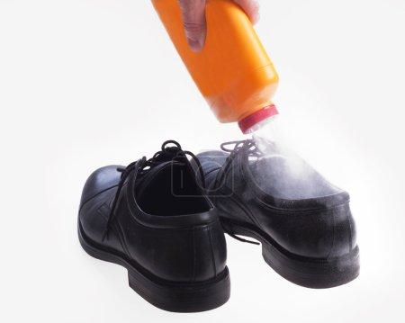 Foot odor powder