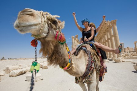 Ride on the camel