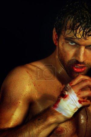 Sexy Boxer Ready