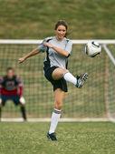 Női futball játékos