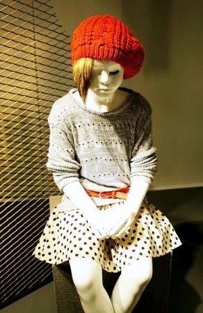 Child mannequin girl