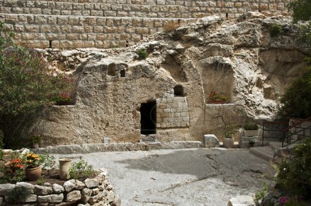 Place of the resurrection of Jesus Christ in Jerus...