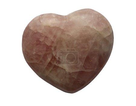 Quarts heart formed