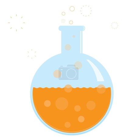 Bubbling Chemistry Beaker