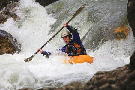 Kayak river racing