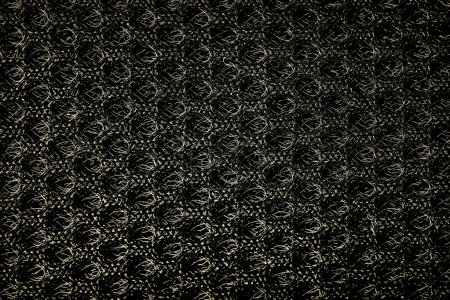 Black grunge fabric texture background