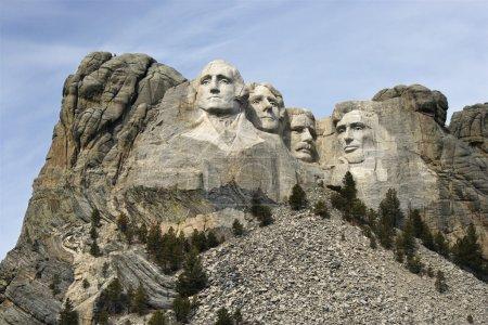 Mount Rushmore Monument.