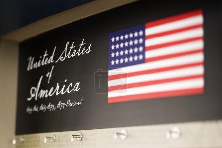USA display.
