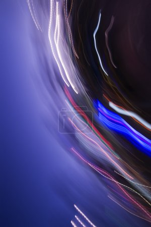 Photo for Abstract motion blur of lights. - Royalty Free Image