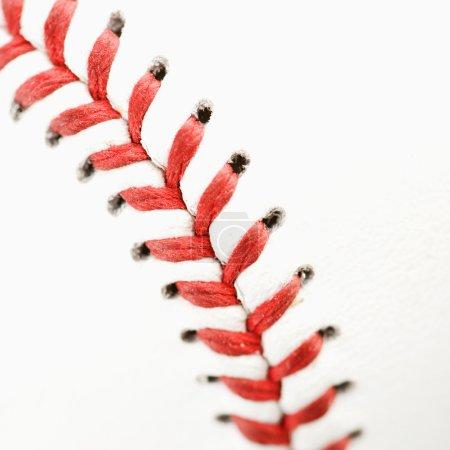 Baseball close up.