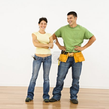 Home improvement couple.