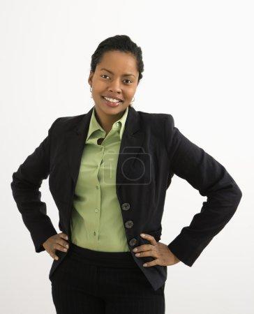 Professional woman portrait.