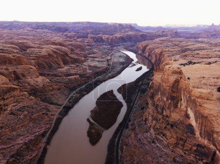 River in Canyonlands, Utah.